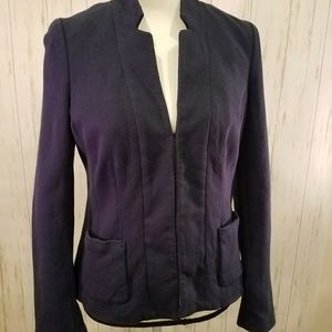 Boden Navy Structured Jacket Blazer